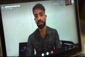 محمد مخرج احوازي سلط كاميرته على اجراءات الاحتلال الايراني في الاحواز المحتلة