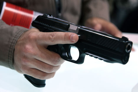 شركة كلاشنيكوف تعرض مسدساً جديداً في منتدى