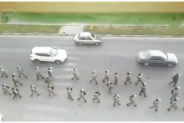انتشار كبير للحرس الثوري الايراني في الأحواز المحتلة لقمع اي مظاهرات