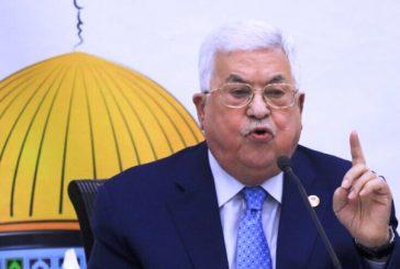 محمود عباس: نرفض