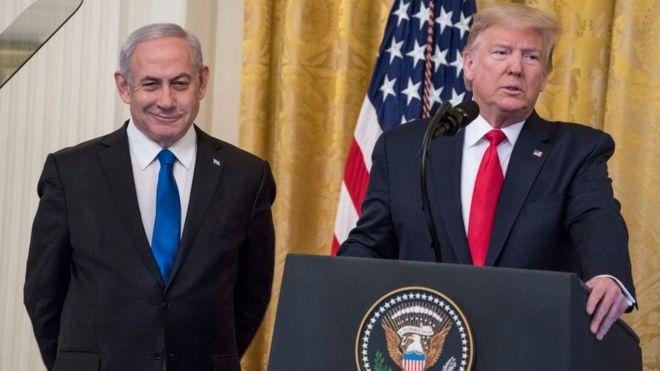 """صفقة القرن: ترامب يعلن خطته للسلام ويقول إنها """"ربما تكون فرصة أخيرة"""" للفلسطينيين"""
